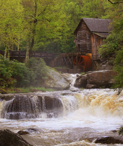 Babcock Gristmill Photo by Julie Black