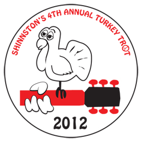 2012 Turkey Trot Medals